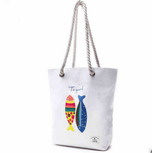 Top selling Women Ladies Heavy Duty Shopping Cotton Canvas Tote Bag with Zipper