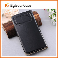 universal leather flip cover for lenovo a850