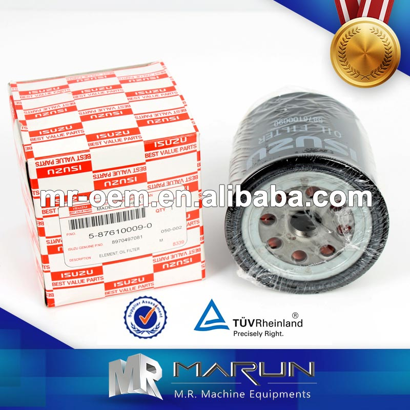 TFR54 4JA1 Engine Oil Filter,Filter Element Apply to Japanese Truck