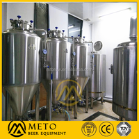glass bottle machinery 300 Liter micro brewery for sale