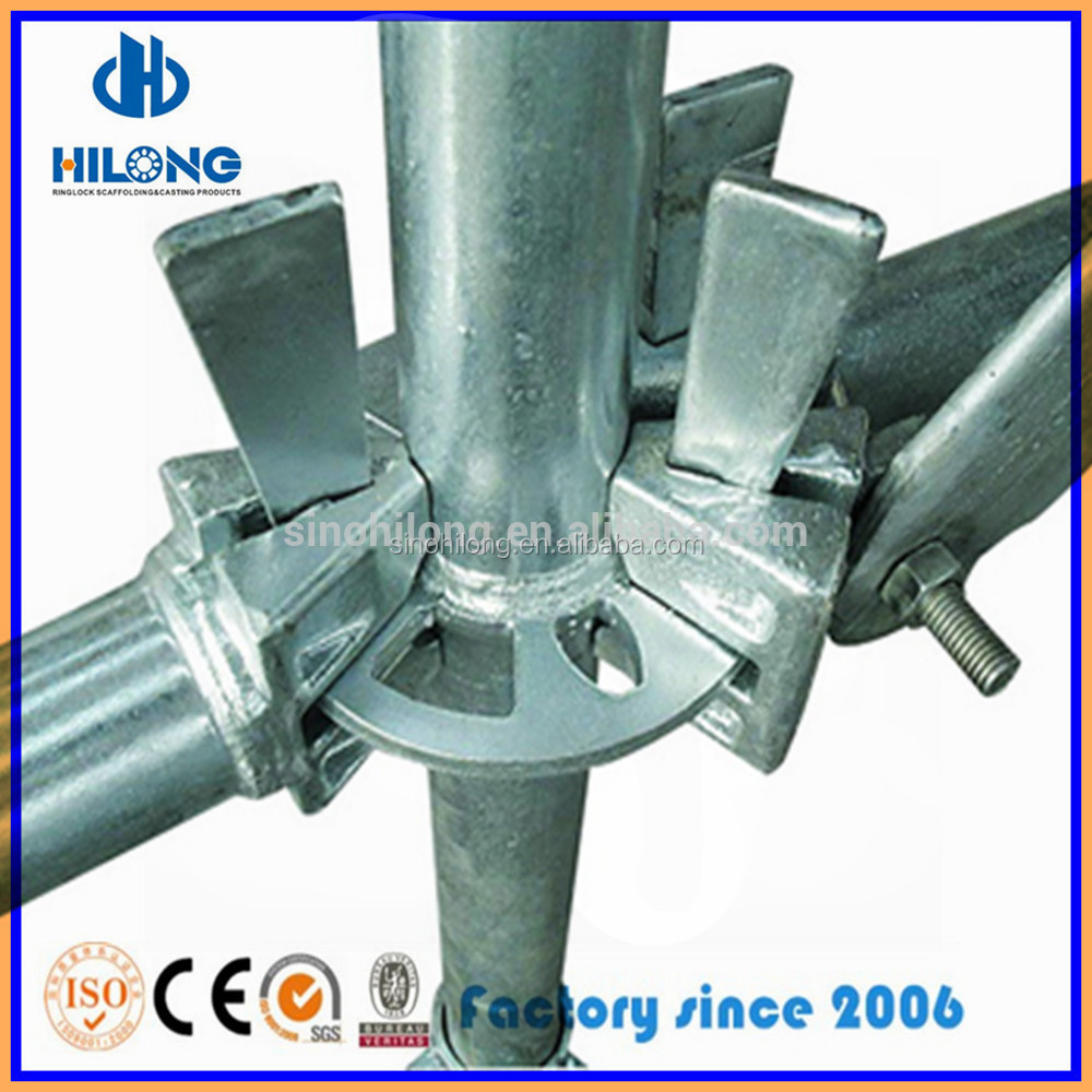 Construction wedge scaffolding steel round ring lock scaffolding