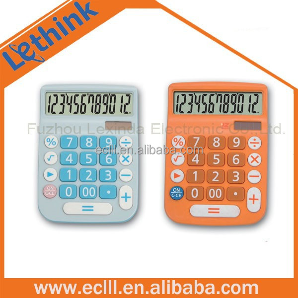 Desktop 12 digits electronic calculator