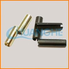 China fastener best quality two coils end spring tension pin