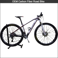 New product 2014 hot sell carbon fiber mountain bicycle MTB 29er carbon bike