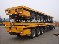 Good factory 2-3axles flatbed truck dimensions for sale