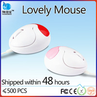 VMA-07 3d cute shape optical gift wired mouse for laptop