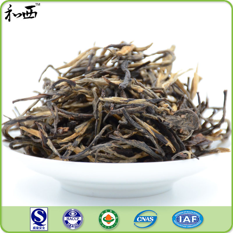 Earl grey black tea leaf bulk p.e.