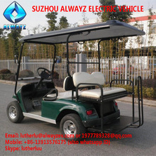 Used golf carts AW2024KSZ 4 seats with flip-flop seat