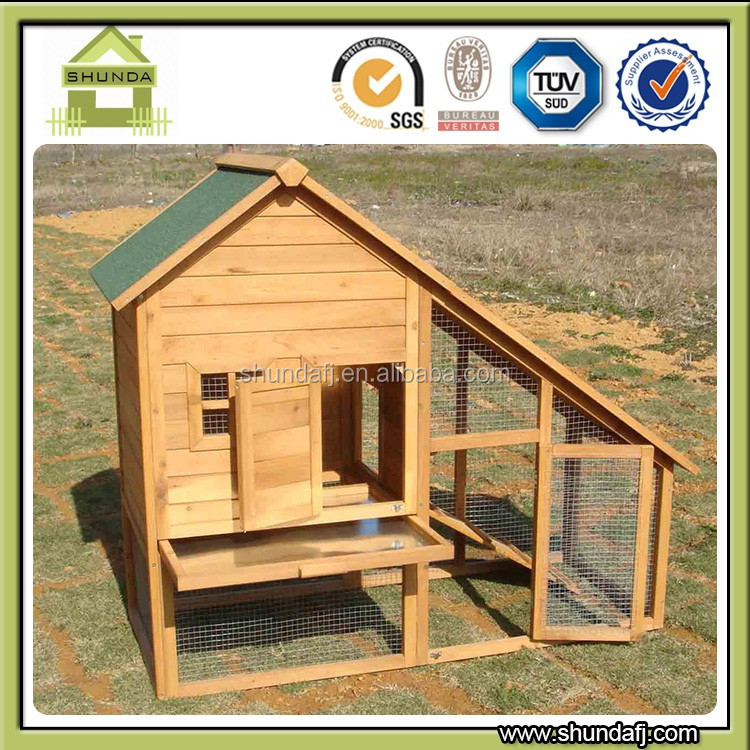 SDR004 Factory direct cheap rabbit house , rabbit hutch , rabbit cage