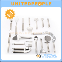 6PCS Small Chinese Kitchen Utensils Cooking Tools With Silicon Handle