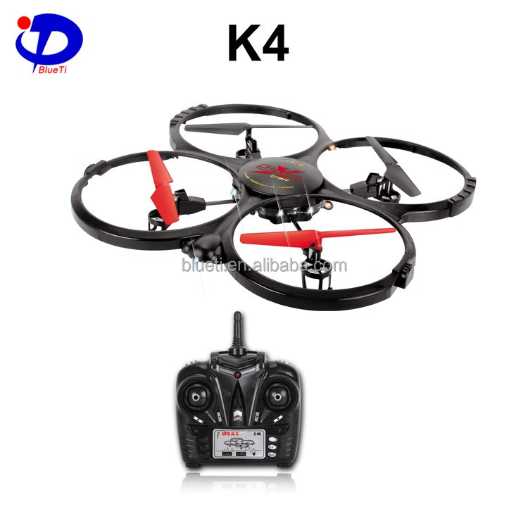 K4 6-axis gyro 3D flips rc quadcopter toy drone with led light