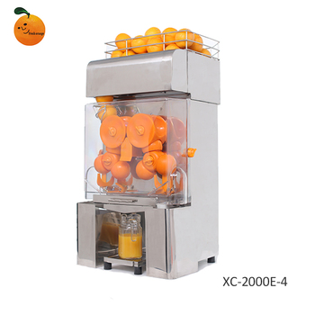 Automatic orange juice extractor,Orange juice squeezing machine,Popular orange juicer XC-2000E-4