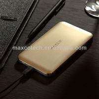 Ultra thin mobile portable power bank charger for iphone tab