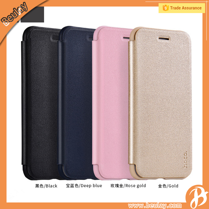 Hoco original leather case for iphone 7 korean phone case wholesale