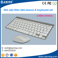 2016 hot sale 2.4g wireless usb cordless keyboard mouse combo