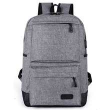 Multilayer Oxford fabric Laptop Backpack Bag College <strong>School</strong> or Businesses Rucksack with USB Port