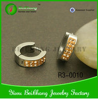 Global Trendy Charming mystic yellow topaz gemstone price earring Fashionable Jewelry from China R3-0010