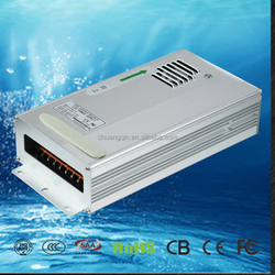CCQ-600W single output 12V 50A AC LED innovative waterproof outdoor led rack power supply