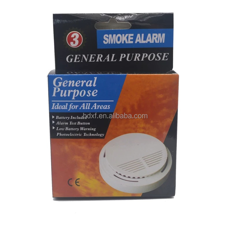 new GSM Alarm System HOT White Smoke detector 433 MHZ sensor for wireless Home Security Alarm System
