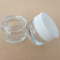 5ml transparent tempered glass oil concentrate container/jars