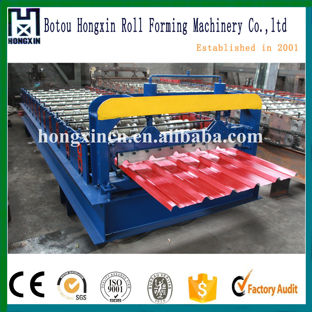 Iron sheets forming machine for sale /Roof sheet forming machine /save space make two part for one machine roof sheet machine