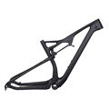 Top quality T700 carbon fiber DI2 mountain mtb frames 29er full suspension carbon frame M06