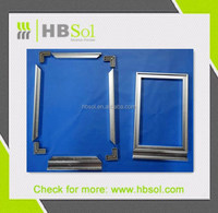 6060 T6 aluminum cabinet frame/ kitchen decoration aluminum profile