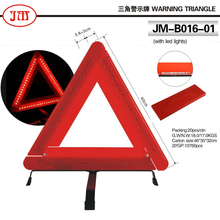60 LEDsFoldable Car Emergency Warning Triangle Kit Reflector Road Flasher