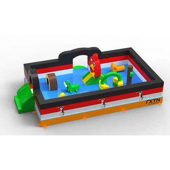 160608057B Factory directly price fun inflatable obstacle bouncer for children
