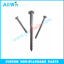 Wholesale DIN571 DIN912 Stainless Steel wood screw nut bolt