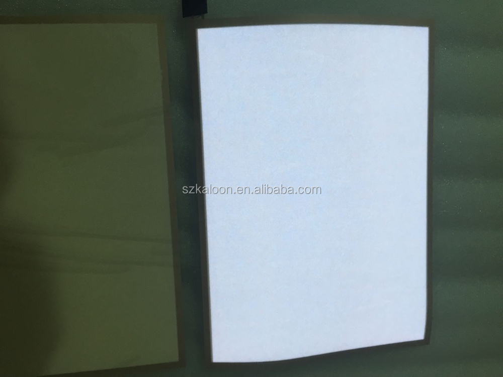 el paper backlight electroluminescent sheet