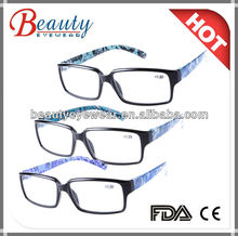 2013 most fashion womens eyewear with shell paper transfer