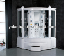 Acrylic shower room G150 shower cabin with stainless frame,lcd TV,MP3