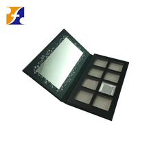 New arrival empty makeup cardboard palette with protect paper box