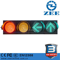 EN12368 CE Certificated 200mm Horizontal Traffic Light, High Quality 3 Year Warranty 8 Inches LED Traffic Signals for Sale