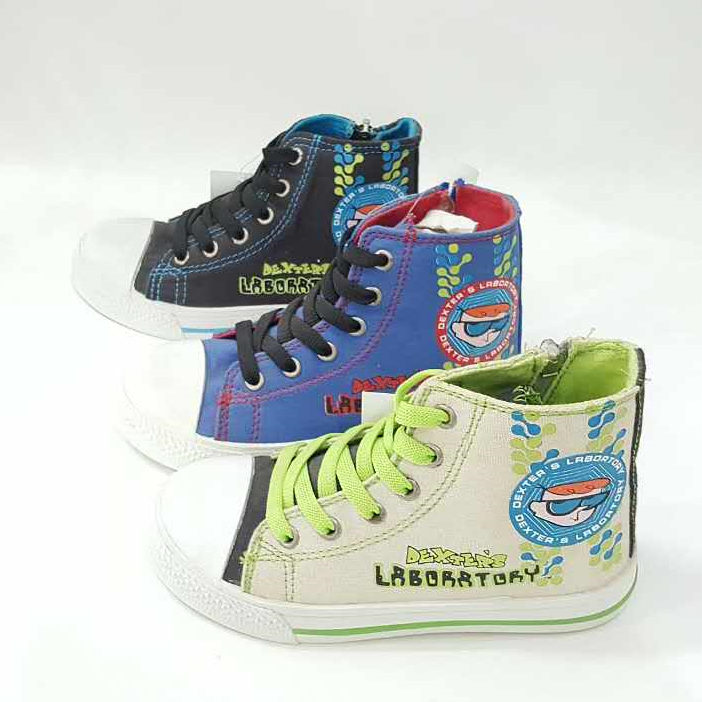 new model custom printed canvas footwears kids shoes wholesale canvas shoes