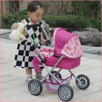 top sale lovely baby girl toys luxury baby doll stroller toy