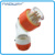 56PA610 ip66 waterproof 500V 10A 6 round pins angle industrial plug