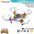 Colorful 2.4G 4Axis RC Quadcopter mini, quadcopter mini camera 2016
