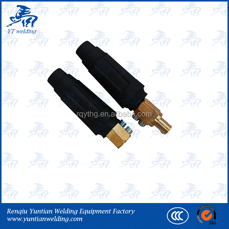 Trafimet Style Cable Connector Plug/socket For Welding Machine