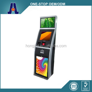 floorstanding touch screen casino betting kiosk and lottery terminal (HJL-3311)