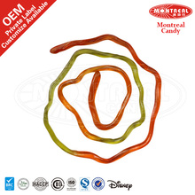 59% Fruit Juice Halal Gummy Candy For Rainbow Rope