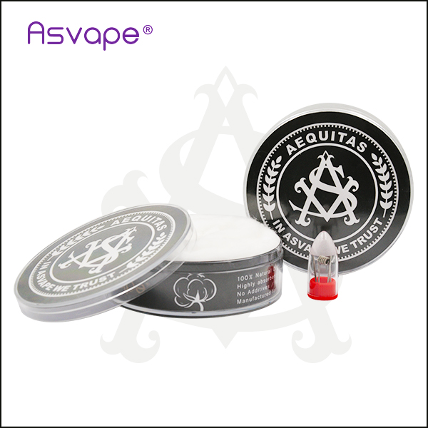 100% Organic Cotton with Present Dual Vape Coils at Factory Price
