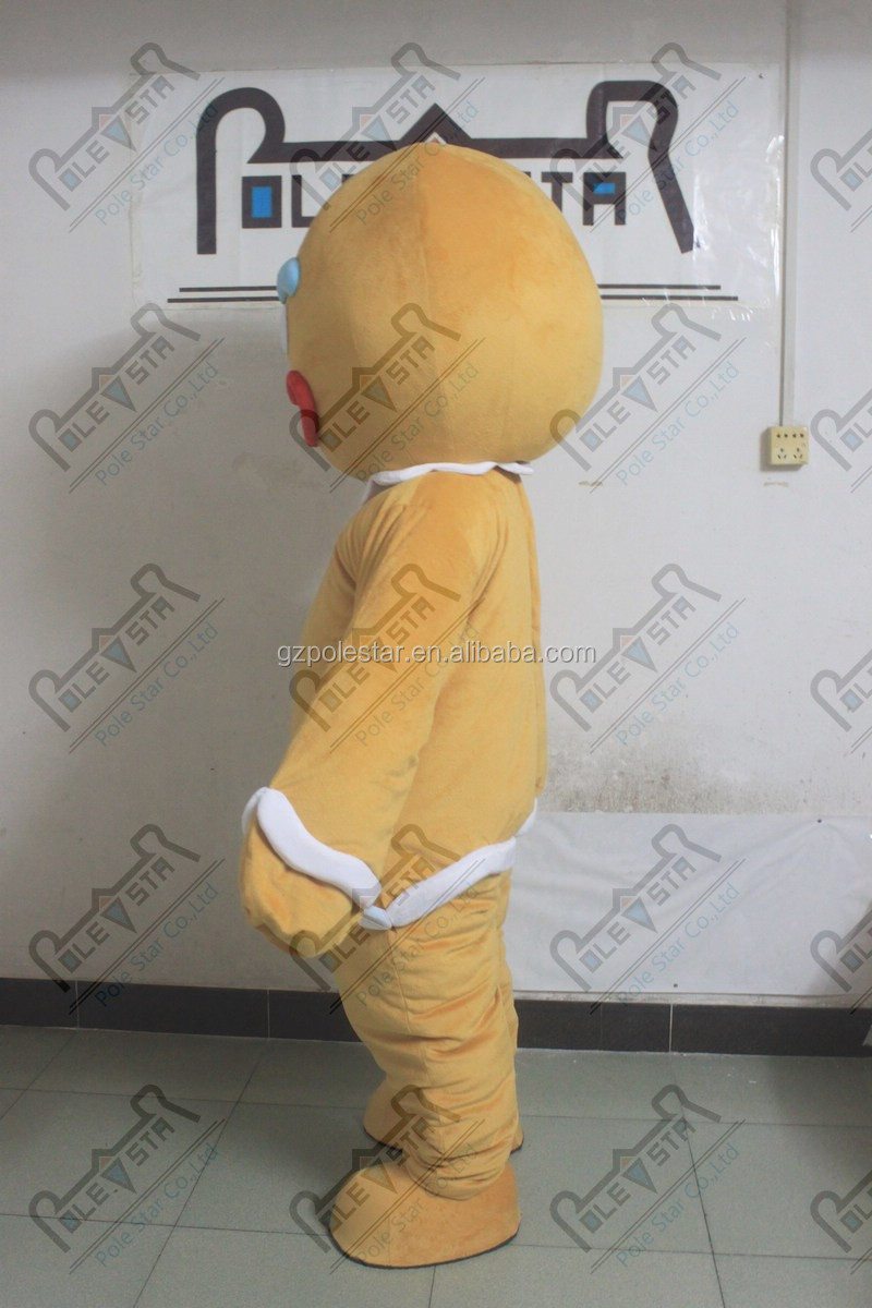 new gingle bread mascot costume sweet cookie costumes