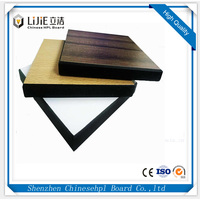 Lijie Quality HPL Matte High Pressure Compact Laminate For Furniture