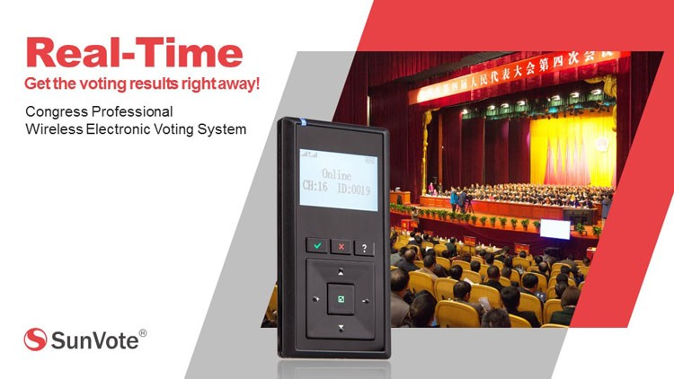 Voting system for government conference