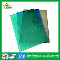 GE SABIC uv coated glittering soundproof anti-drop fire proof polycarbonate shed sheet