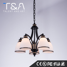 Home decoration 3 to 8 E14 lights metal chandelier contemporary import from china