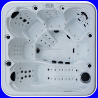 6 persons 164 pcs Jets CE SAA outdoor bathtub jacuzzi function
