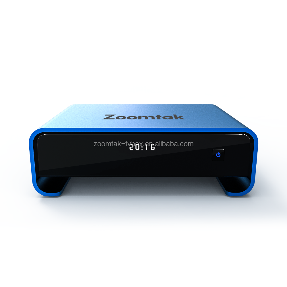 Zoomtak best selling android octa core tv box 4k U plus